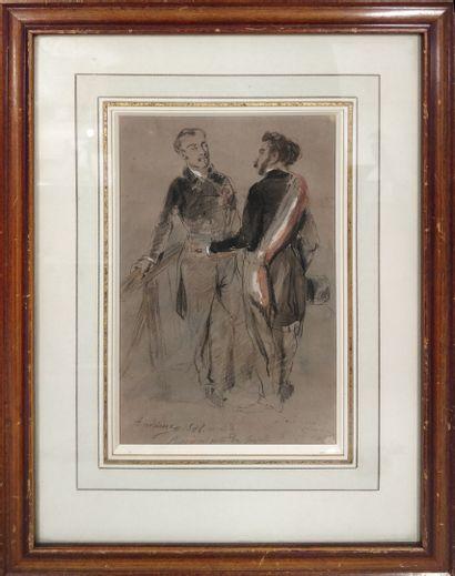 ANDRIEUX Clément Auguste, 1829-1880,  Représentants...