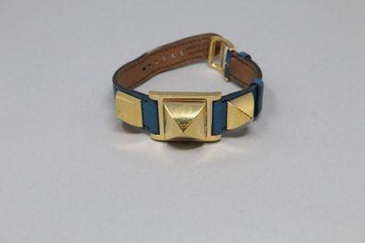 HERMES  Montre bracelet de dame, boîtier...