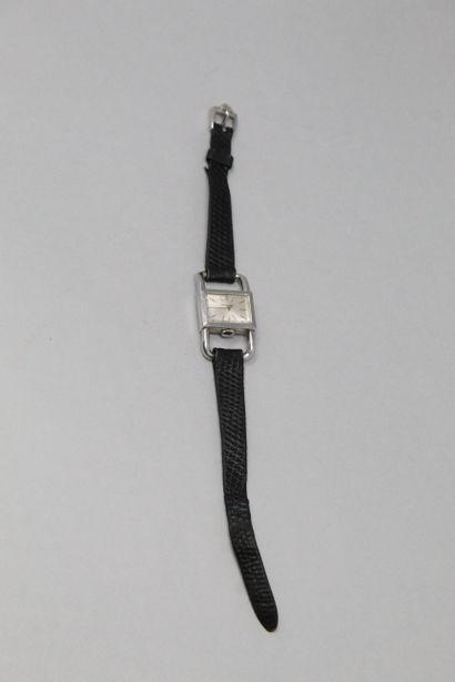 JAEGER LECOULTRE - HERMES  Montre bracelet...