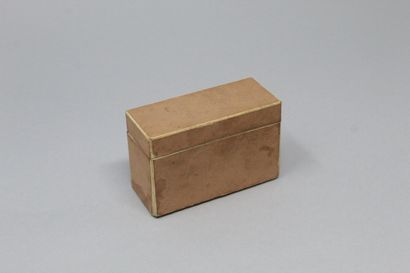 "DANA    Three glass bottles of perfume samples in a box, containing ""Tabu"", ""Bolero"",..."