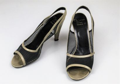 CHRISTIAN DIOR SOULIERS (circa 1975)    Paire...