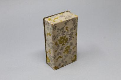 "CONTIGO    Glass bottle of perfume ""Contigo"", in its original box."