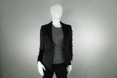 MAX MARA    Veste de blazer noire en cachemire,...