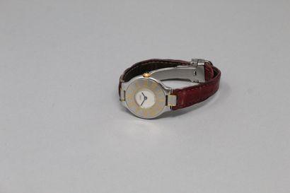 CARTIER (Must de)  Montre bracelet, boitier...