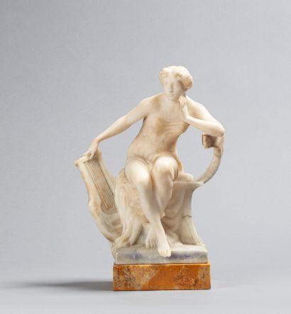 TELL E., XIXe-XXe siècle  Musicienne antique...