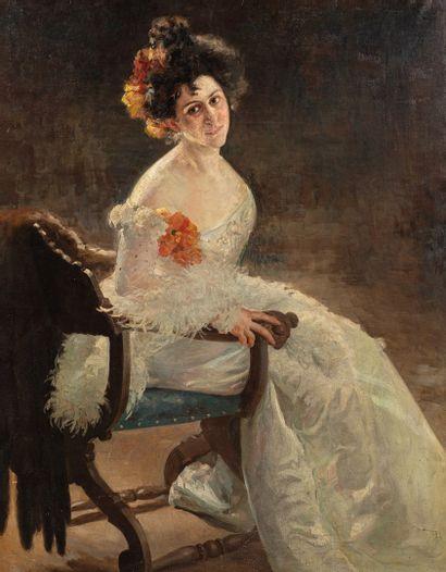BUCHHOLTZ Théodore, XIXe-XXe siècle  La mariée,...