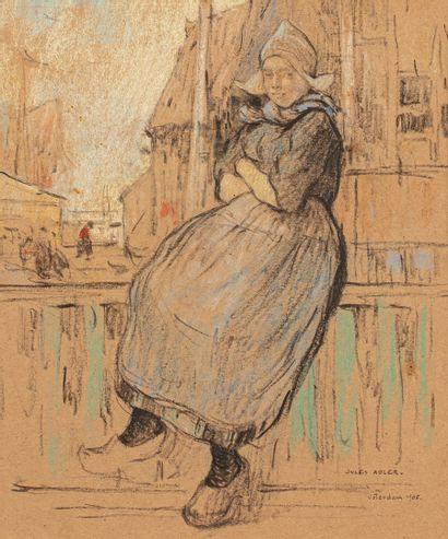 ADLER Jules, 1865-1952  Hollandaise à la...