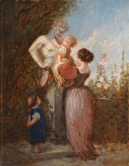 DE BEAUMONT Édouard Charles, 1812-1888  Mère...