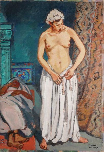 DE BUZON Marius, 1879-1958  Orientale  huile...