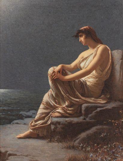 RAYNAUD Auguste, 1854-1937  Rêverie orientale...