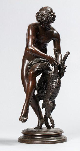 BARTHÉLÉMY Raymond, 1833-1902  Bacchus dansant...