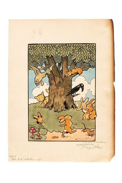 RABIER Benjamin, 1864-1939  Les animaux de...