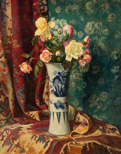 MONFREID Georges Daniel, 1856-1929  Vases...