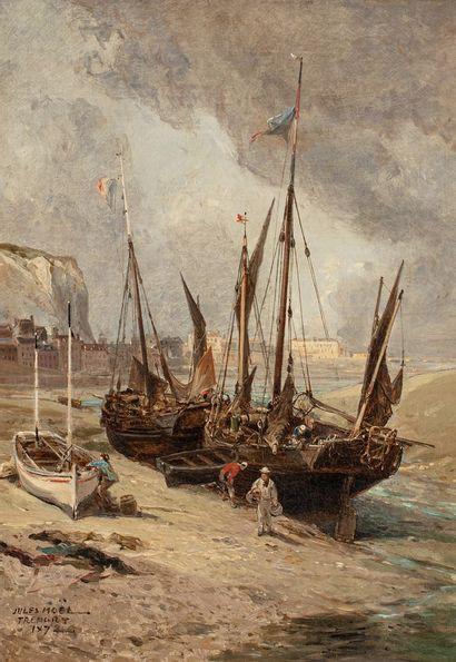 NOËL Jules Achille, 1810-1881  Bateaux de...