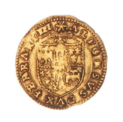 ITALIE - FERRARE - ALPHONSE D'ESTE (1505-1534)...