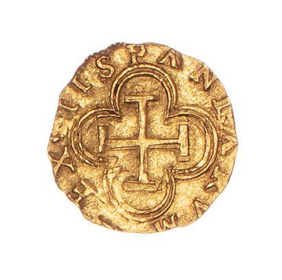 ESPAGNE - PHILIPPE II (1556-1598)  1 escudo...
