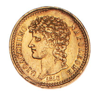 ITALIE - NAPLES - JOACHIM MURAT  40 lires...