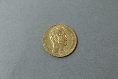 Pièce en or de 20 Francs Charles X (1828...