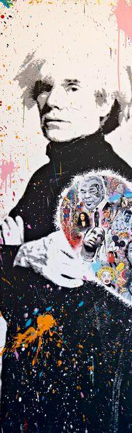 ZOULLIART (né en 1996)  Andy Warhol, 2020...