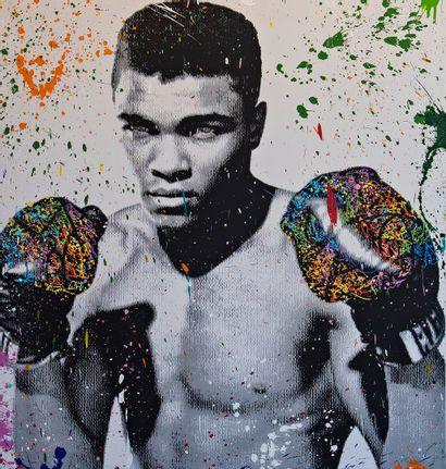 ZOULLIART (né en 1996)  Mohamed Ali 2020...