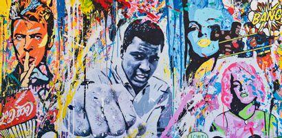 ZOULLIART (né en 1996)  Mohamed Ali, 2020...