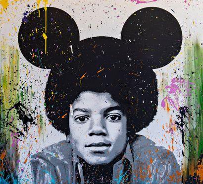 ZOULLIART (né en 1996)  Michael Jackson,...
