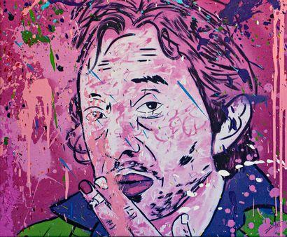 ZOULLIART (né en 1996)  Serge Gainsbourg,...