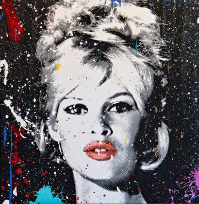 ZOULLIART (né en 1996)  Brigitte Bardot 2020...