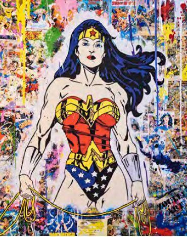 ZOULLIART (né en 1996)  Wonder Woman, 2020...