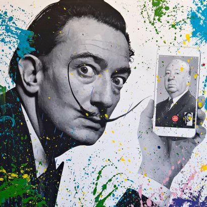 ZOULLIART (né en 1996)  Dali/Hitchcock, 2020...