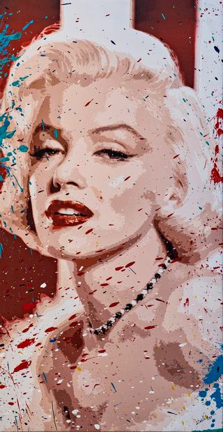 ZOULLIART (né en 1996)  Marilyn Monroe 2020...