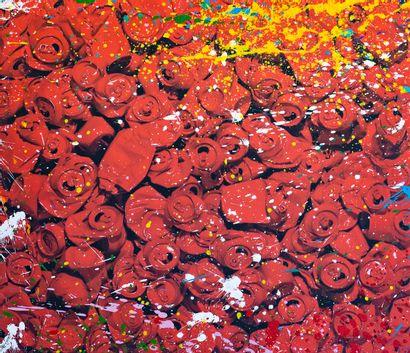 ZOULLIART (né en 1996)  Canettes Coca rouges,...