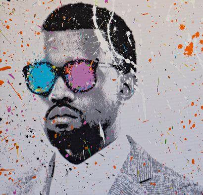 ZOULLIART (né en 1996)  Kanye West, 2020...
