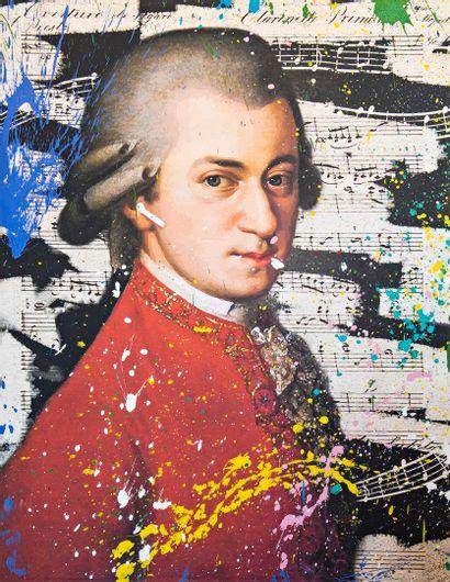 ZOULLIART (né en 1996)  Mozart, 2020  oeuvre...