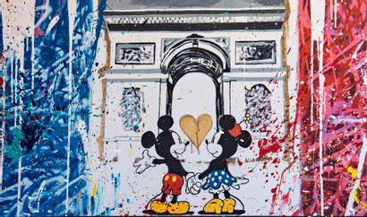 ZOULLIART (né en 1996)  Mickey & Mini Arc...