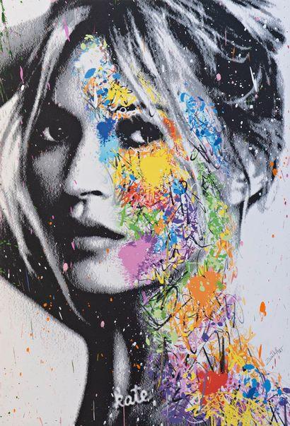 ZOULLIART (né en 1996)  Kate Moss, 2020  oeuvre...