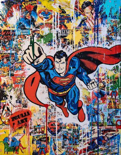 ZOULLIART (né en 1996)  Superman, 2020  Oeuvre...