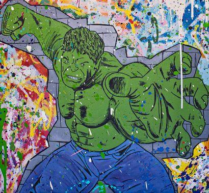 ZOULLIART (né en 1996)  Hulk, 2020  Oeuvre...