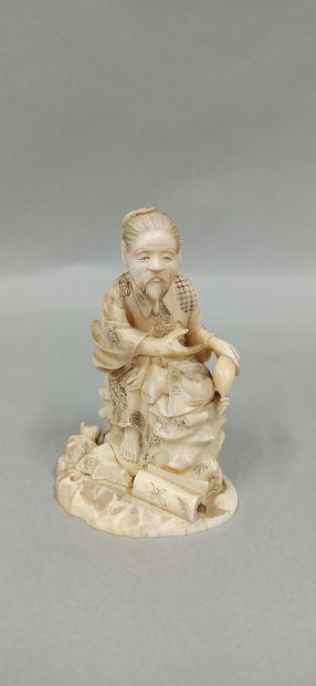 JAPON, Epoque MEIJI (1868 - 1912),  Okimono...