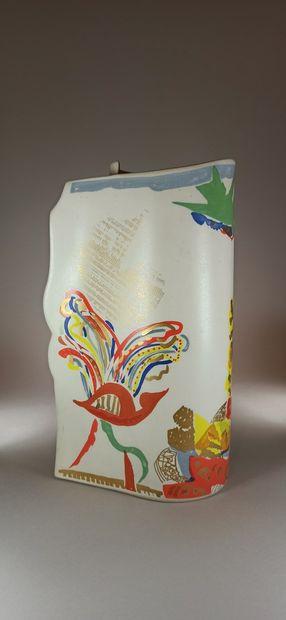 PORTANIER Gilbert (né en 1926)  Vase Edition...