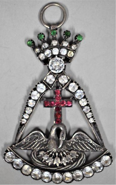 Bijou de chevalier Rose Croix.  A couronne...