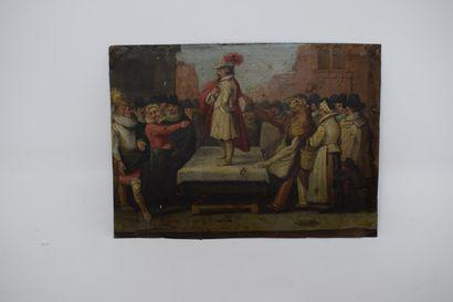 ECOLE FLAMANDE Premier tiers du XVIIe siècle...