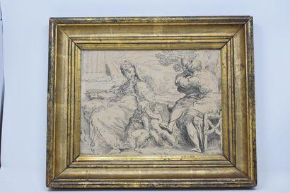 D'après Girolamo MAZZOLA BEDOLI (c.1500-1569),...