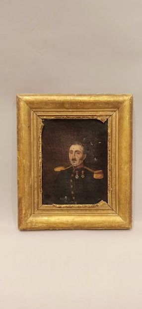 Ecole Française du XIXème siècle,  Portrait...