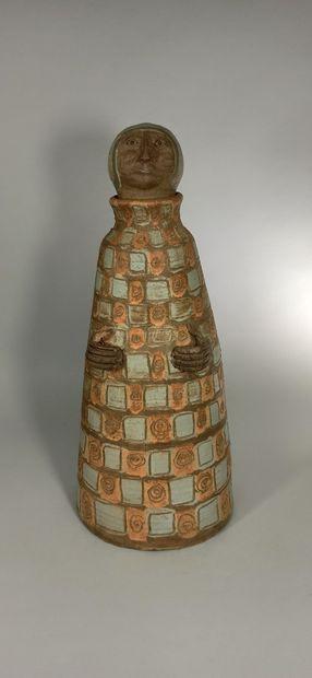 THIRY Albert (1932 - 2009)  Sculpture d'homme,...