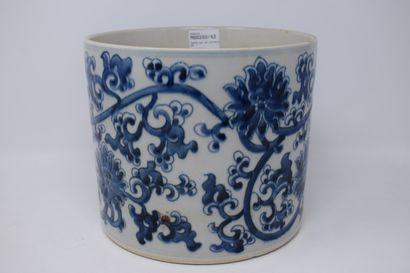 CHINE - XXème siècle, dans le goût des Ming...