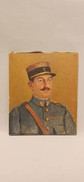 H. LANDAIS  « portrait d'un commandant en...