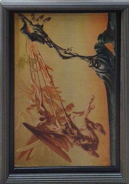 HAUS Rudolf (1897-1977)  Anges  Huile sur...