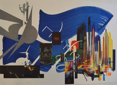 MORETTI Raymond (1931-2005)  Composition...