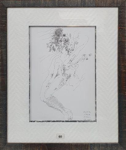 LJUBA (1934-2016)  Visages et jambes, 29...